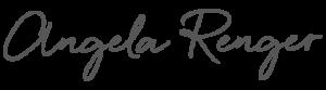 Angela Renger - Unterschrift