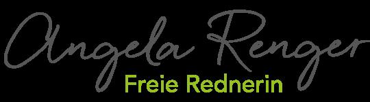 Freie Rednerin Angela Renger